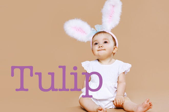 Tulip - Easter baby names