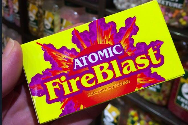 2. Atomic Fireblast