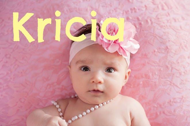 Baby name Kricia