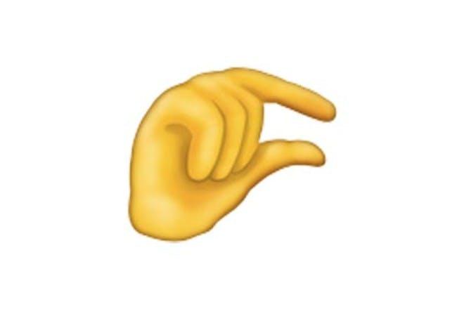 3. The pinching hand