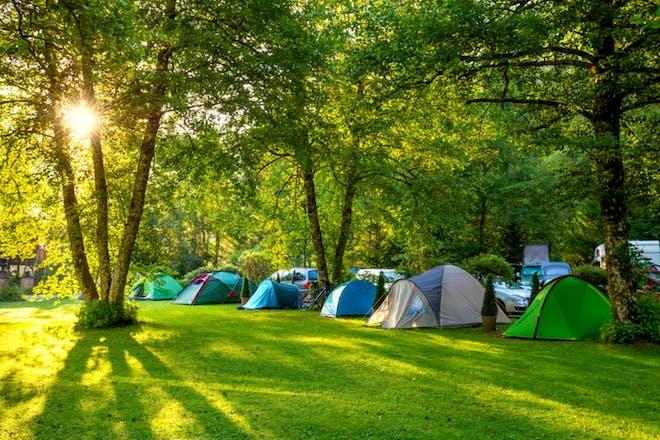Nostalgic holidays camping
