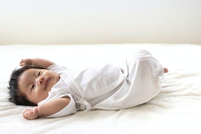 7-week-old baby