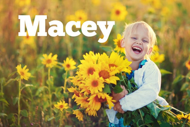 21. Macey