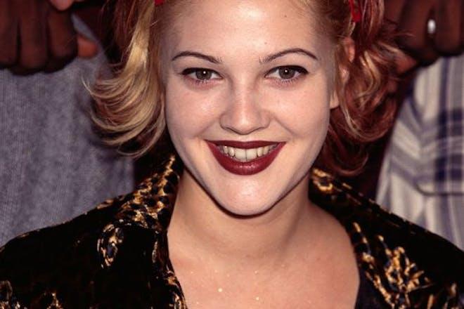 Drew Barrymore in 1990s