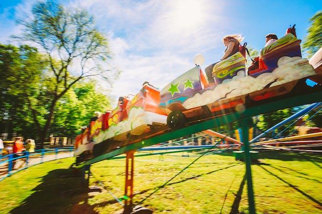 small kids' rollercoaster