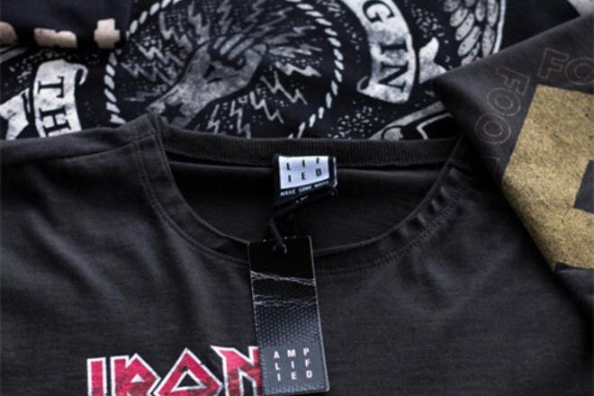 10. Wore band t-shirts
