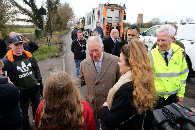 17. Princes Charles' support