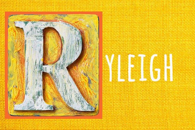 1. Ryleigh