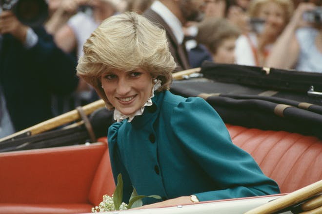 Princess Diana pictured in 1983