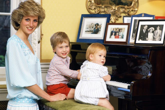They may follow Diana's parenting style