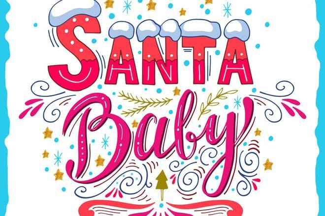 Santa Baby - Christmas songs for kids