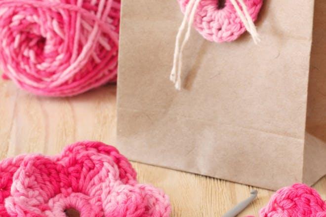 7. Crochet flowers
