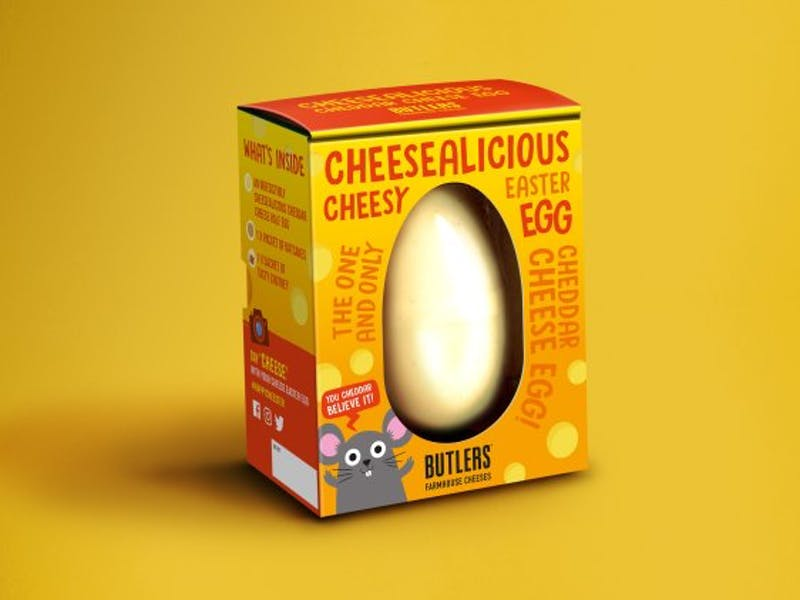 8. Cheesealicious Easter Egg