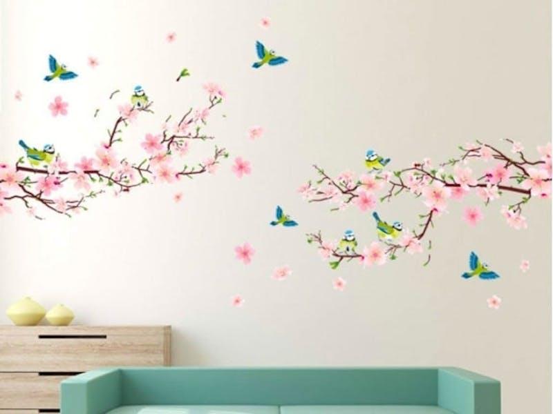 1. Pink blossom tree