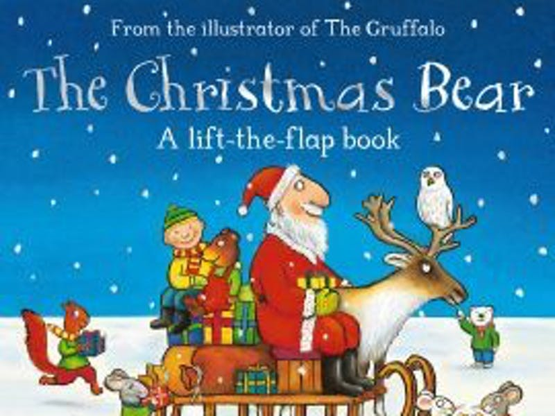 1. The Christmas Bear by Ian Whybrow & Axel Scheffler