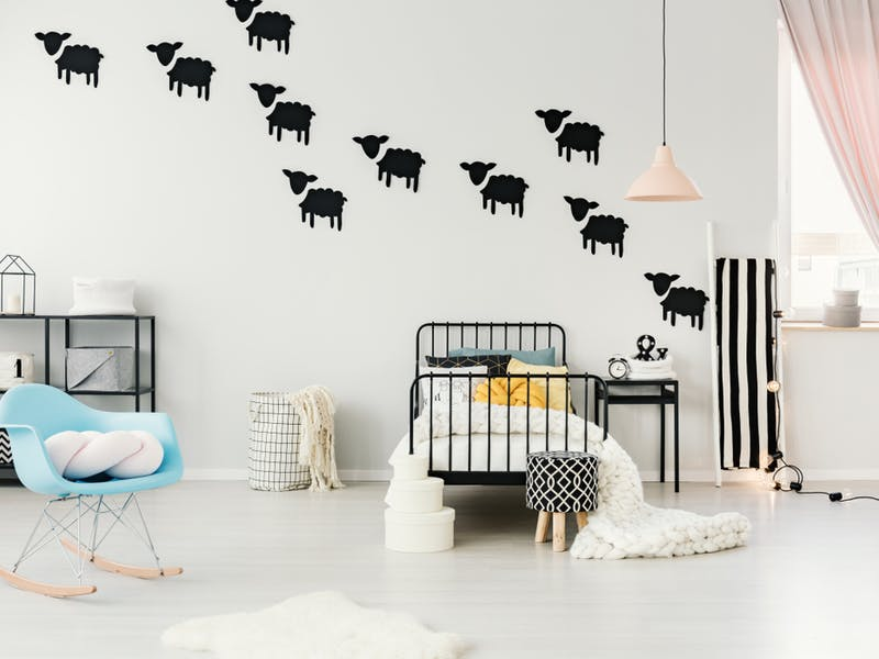 child's bedroom wall stickers