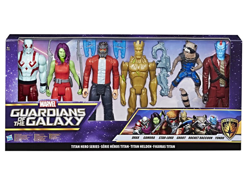 """Guardians of the Galaxy – 12"""" Titan 6 Pack"""