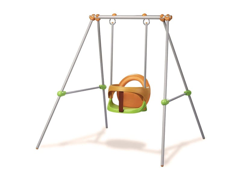 1. Portable toddler swing