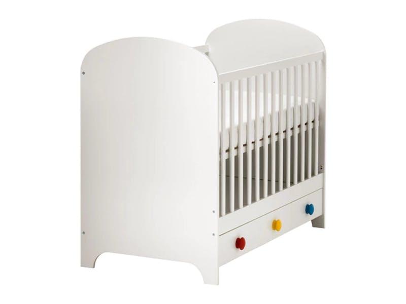 5. Ikea Gonatt cot, £180