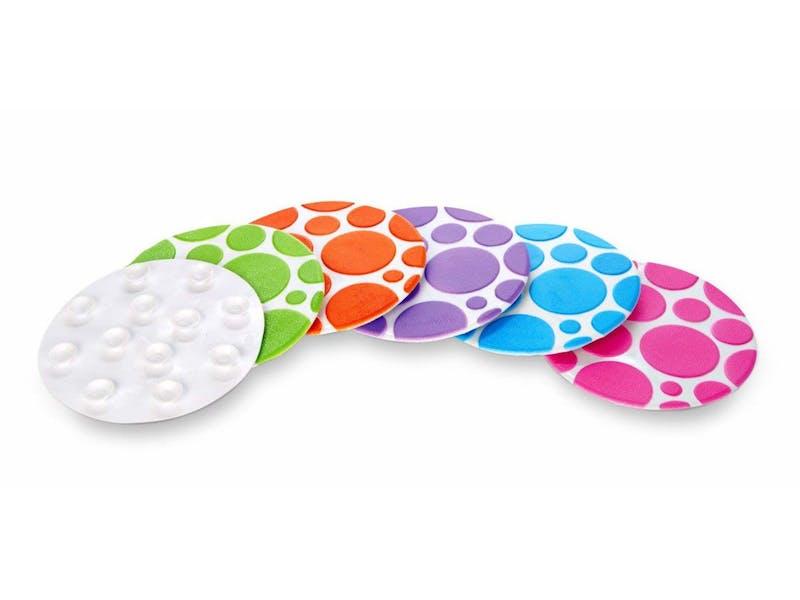 6. Munchkin Grippy Bath Dots (Six-Pack)