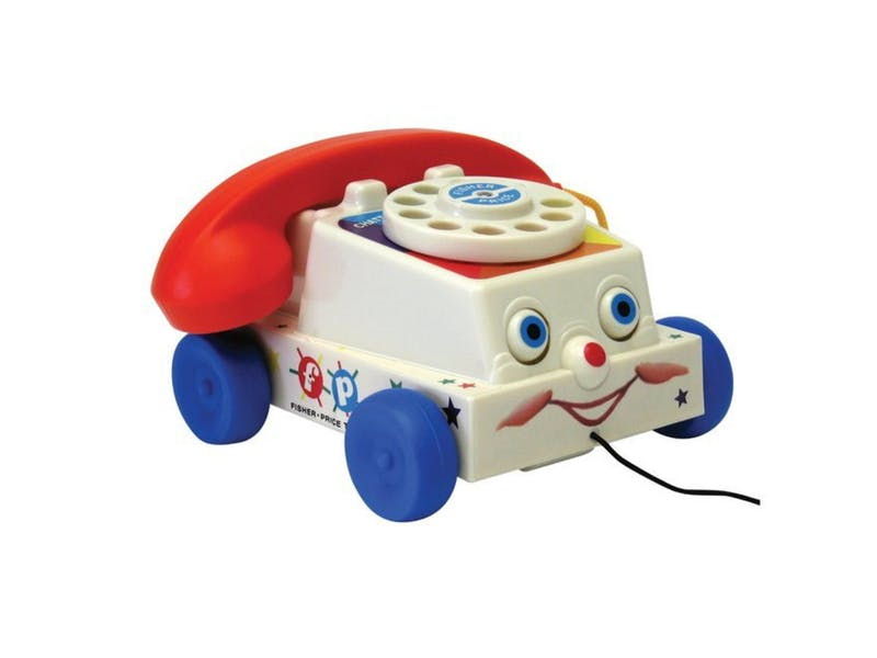 1. Fisher Price Chatter Telephone
