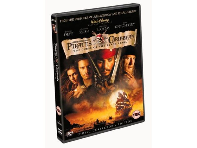 11. Pirates of the Caribbean: The Curse of the Black Pearl