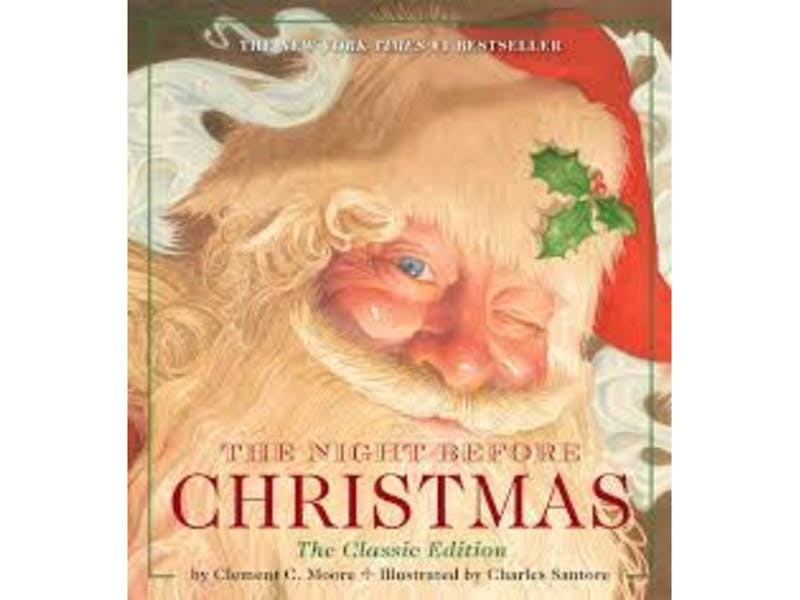 6. The Night Before Christmas by Clement.C.Moore & Christian Birmingham