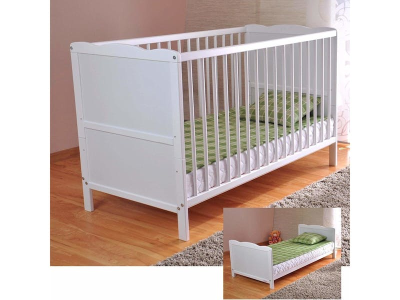 1. Cot bed (includes mattress)