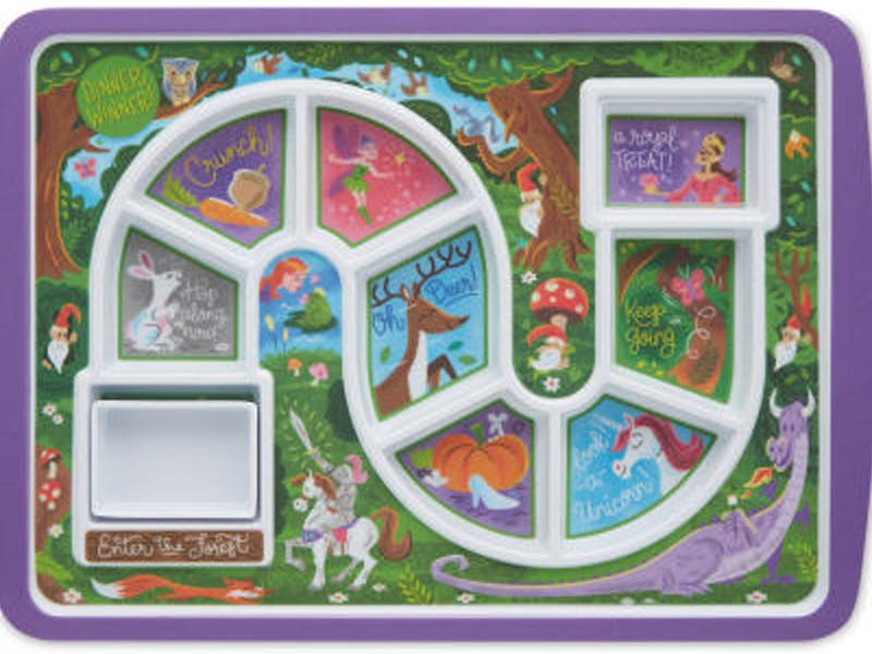 1. Enchanted Forest Mealtime Tray