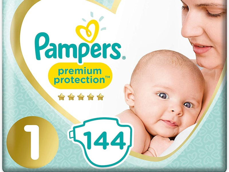 3. Pampers New Baby Nappies (144-pack)