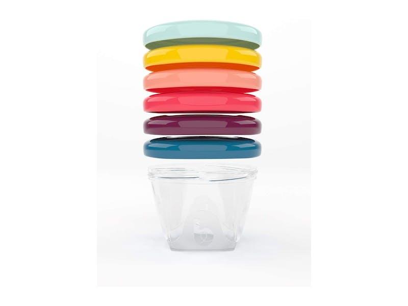 baby food storage pots