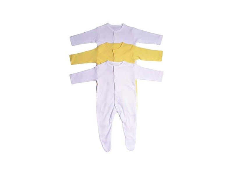 1. Sleepsuits (three-pack)