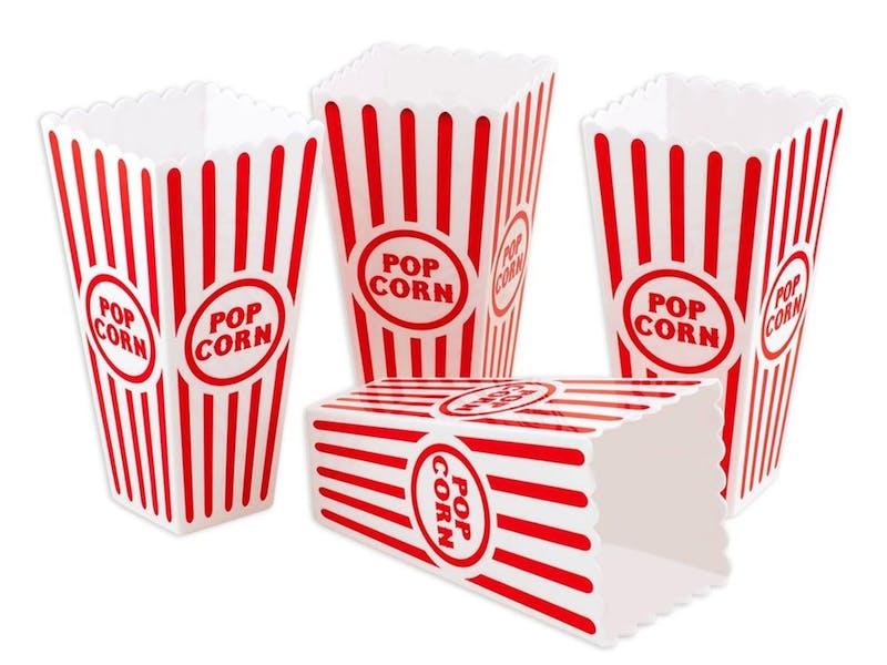 3. Popcorn holders