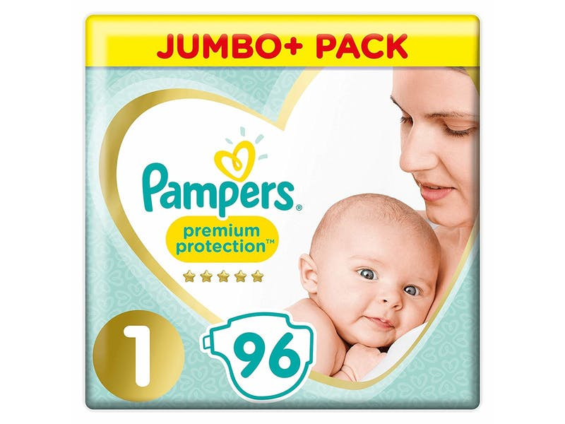 5. Newborn nappies (96-pack)
