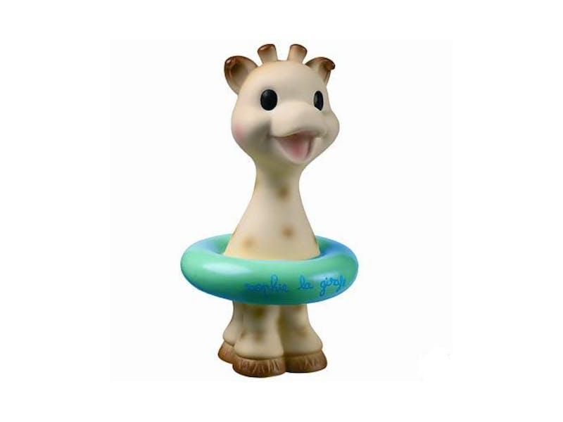 6. Sophie the giraffe bath toy