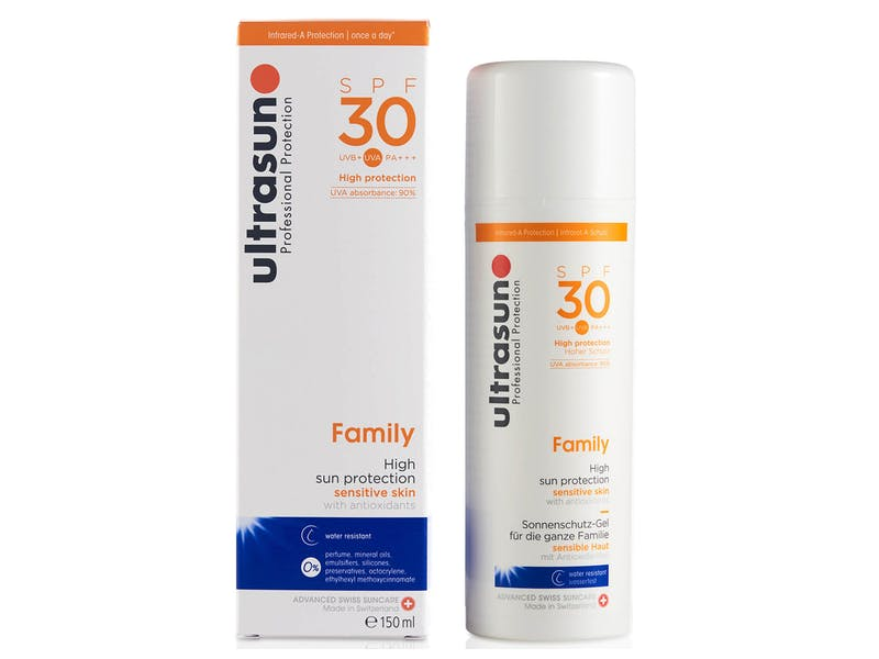 Ultrasun sun lotion