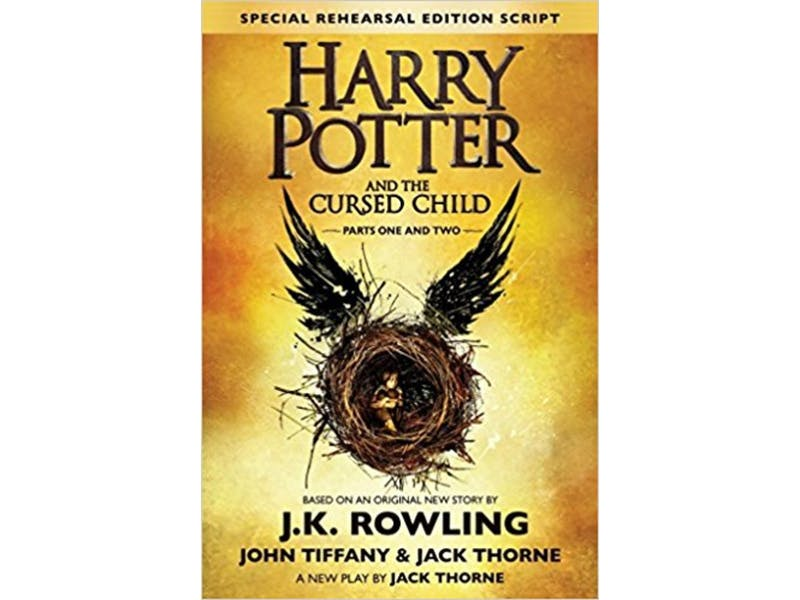 9. Harry Potter and the Cursed Child by J. K. Rowling