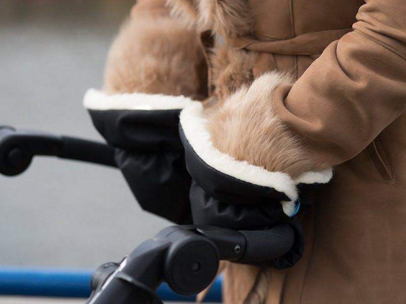 Woollen Pram Hand Warmer
