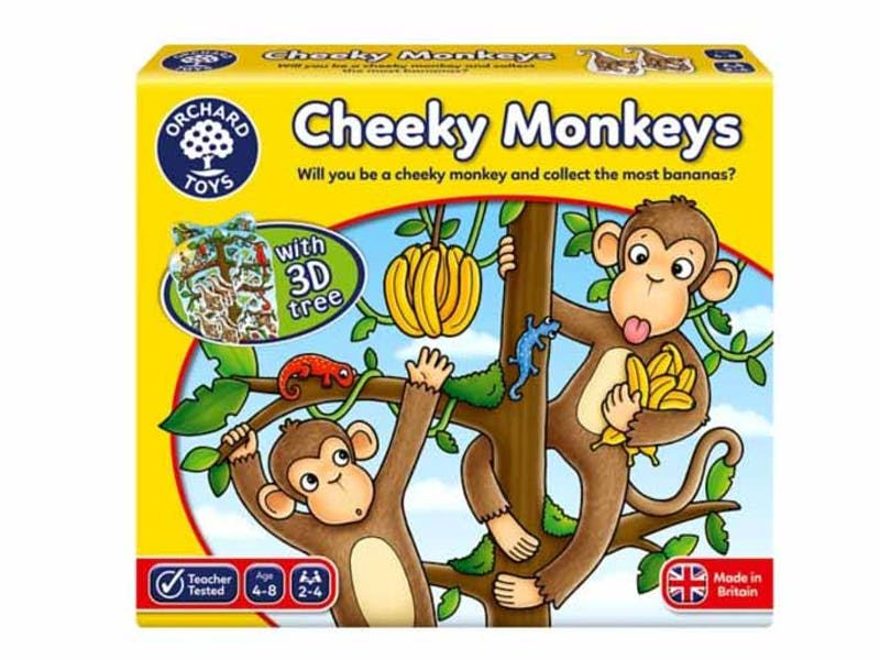 Orchard Toys Cheeky Monkeys Board Game