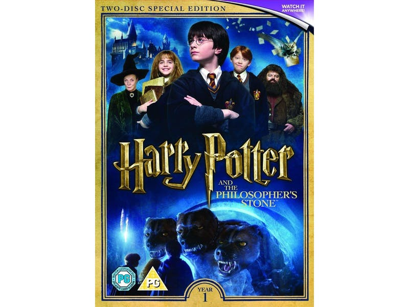 1. Harry Potter and the Philosopher's Stone