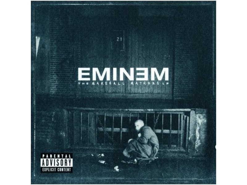 8. Eminem – The Marshall Mathers LP