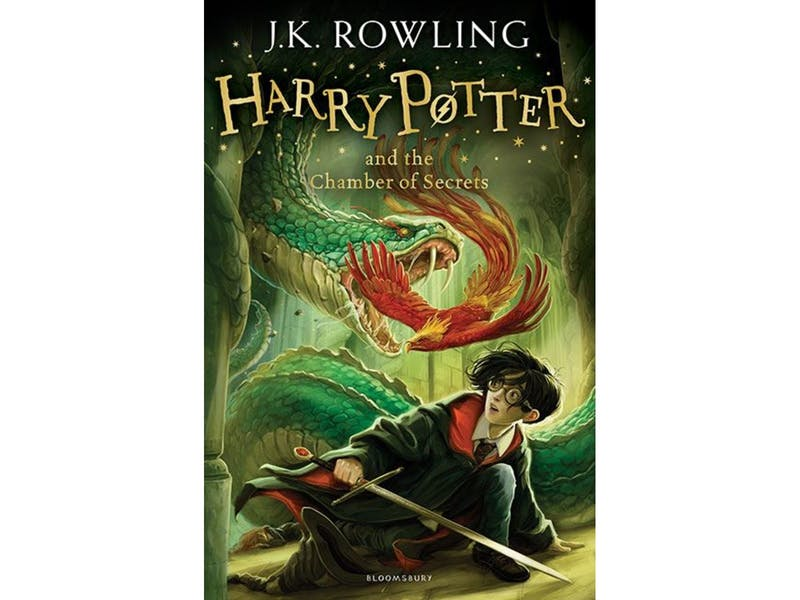 7. Harry Potter and the Chamber of Secrets by J.K. Rowling