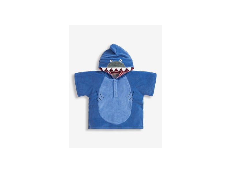hooded swim poncho