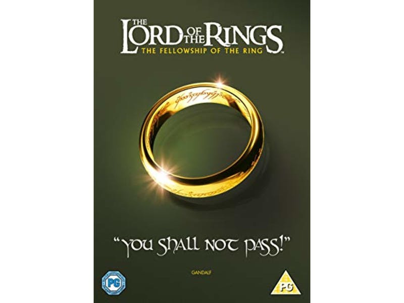 10. The Lord of the Rings: The Fellowship of the Ring