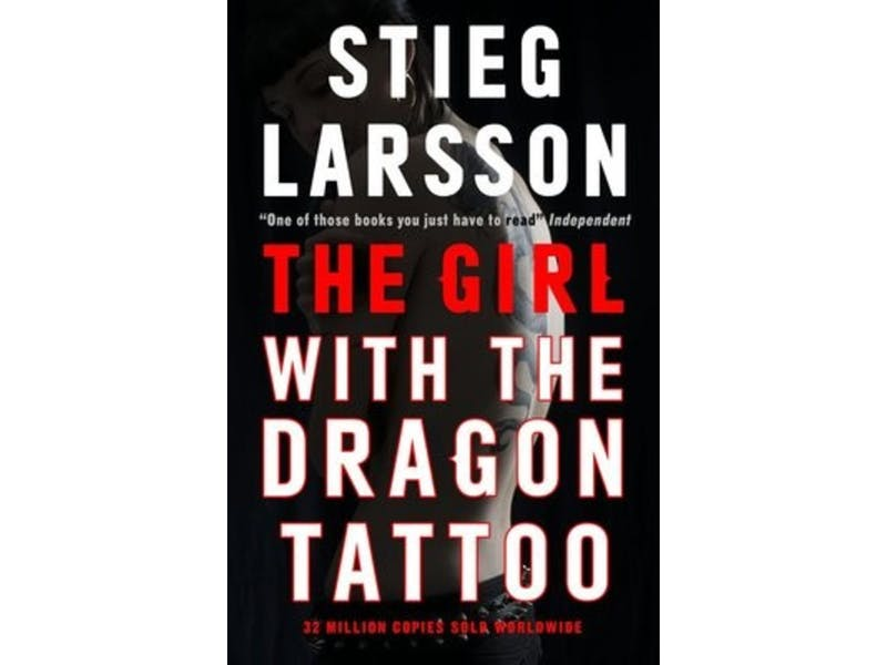 10. The Girl with the Dragon Tattoo by Stieg Larsson