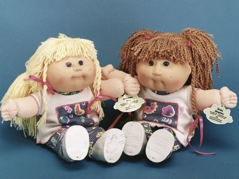 30. Cabbage Patch Dolls