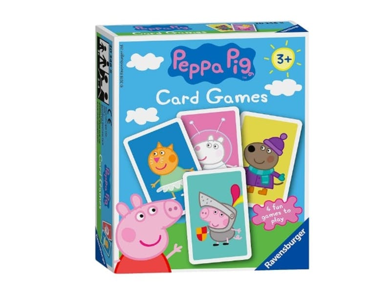 4. Peppa Pig Playing Cards