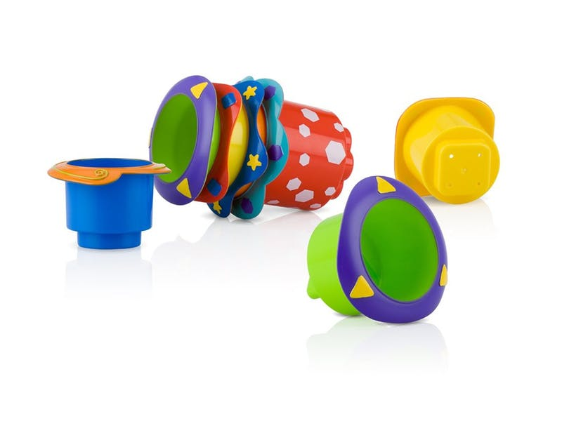 2. Nuby Stacking Cups