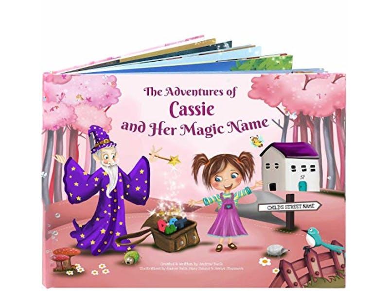 1. Personalised Keepsake Story Book