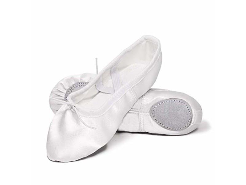 1. Satin ballet shoes